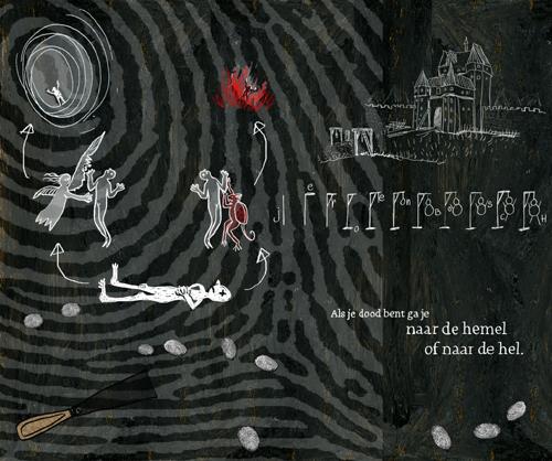 illustratie uit schetsboek van Jeroen Bosch