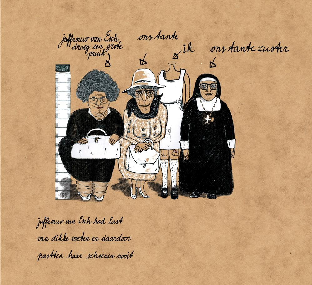pagina uit 'Ons tante Zuster, ons oma en ons tante' 2