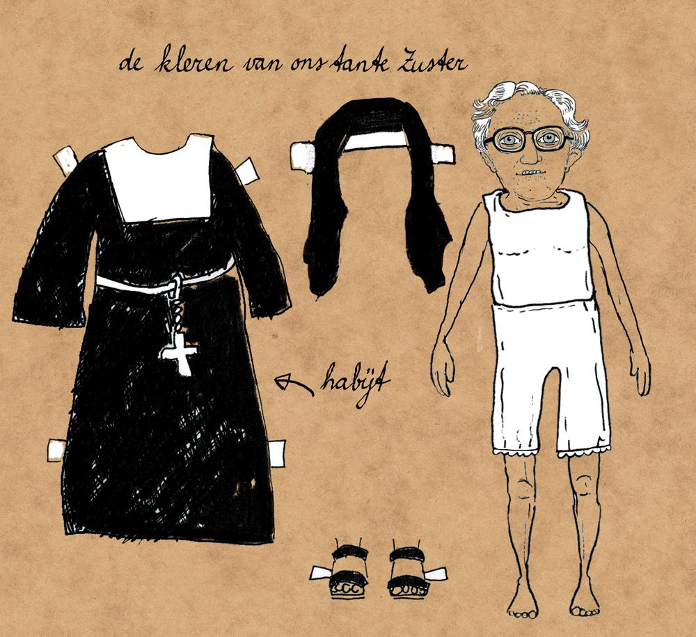 pagina uit 'Ons tante Zuster, ons oma en ons tante' 3